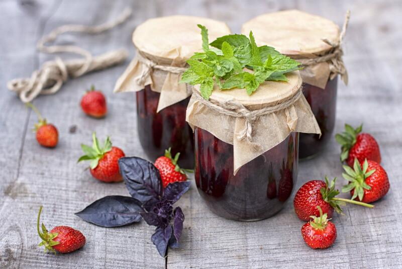 6 рецептов клубничного варенья для любителей