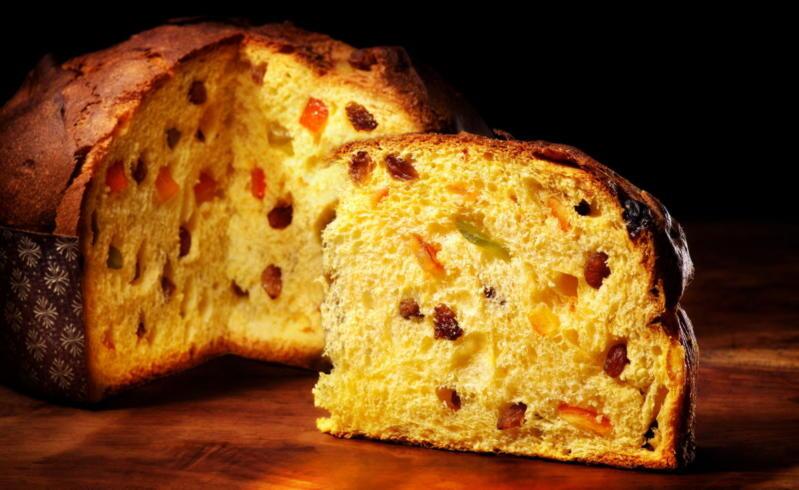 Быстрый рецепт итальянского кекса Панеттоне