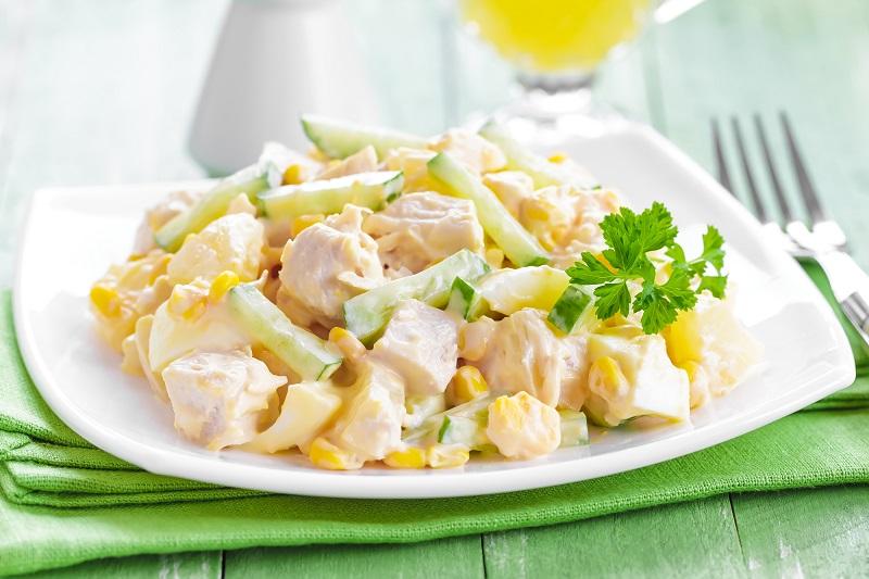 5 фитнес-салатов для плоского живота из цикла «Худеем вкусно». Простые продукты, а какое разнообразие!