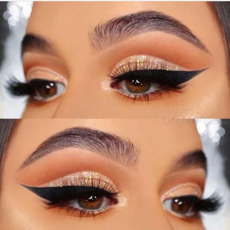 Потрясающий макияж для карих глаз: 14 восхитительных вариантов
