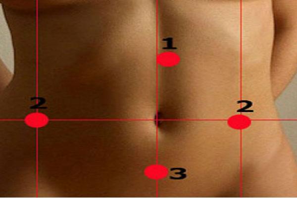 Массаж этих 5 точек поможет сбросить от 3 кило за неделю