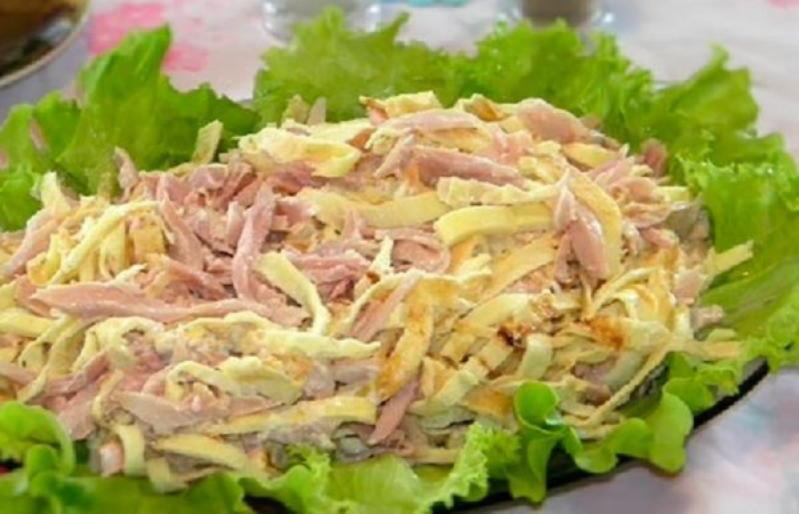 Десять рецептов ярких яичных салатов на любой вкус!