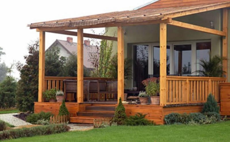 Восемь шедевральных идей для террасы, пристроенной к дому