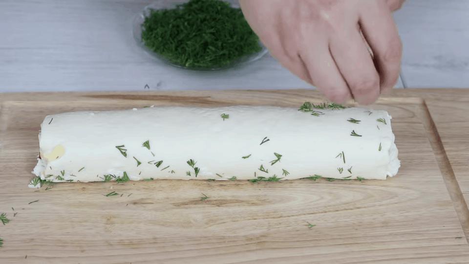 Необычный рецепт из плавленого сырка. Вкусно, красиво и просто.