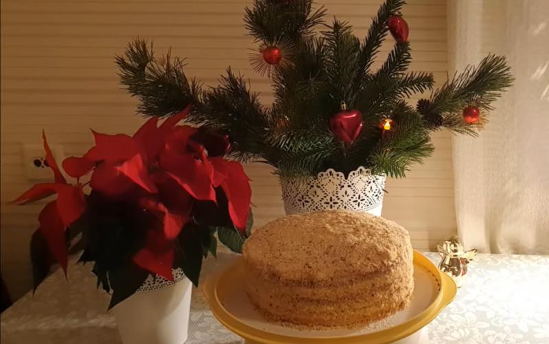 Медовик – сладкое украшение стола. Простой рецепт популярного десерта.