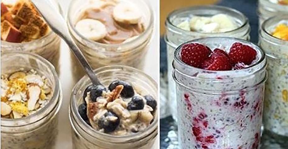 Овсянка, приготовленная накануне вечером: секрет для повышения способности к потере веса (с рецептами)!