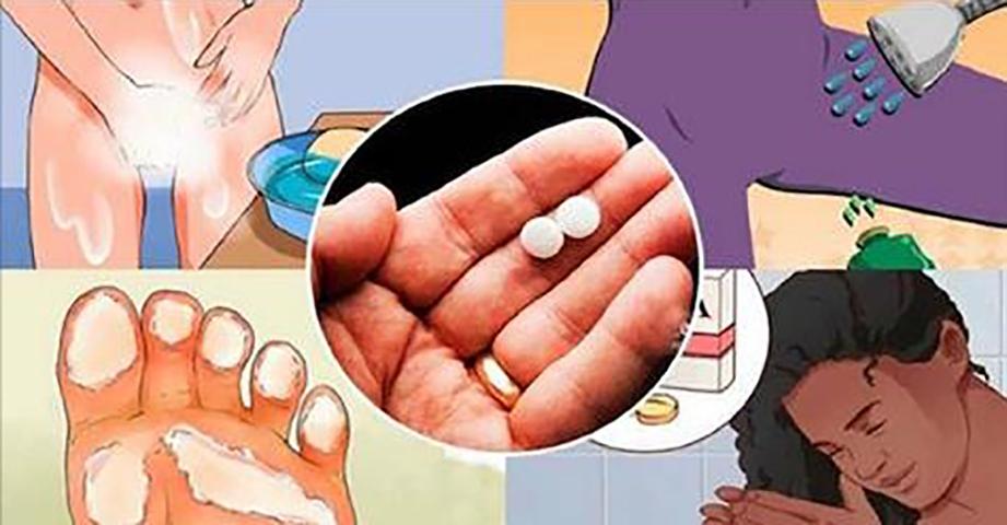 Трюки с аспирином, которые должна знать каждая женщина. Это полностью изменит вашу жизнь!