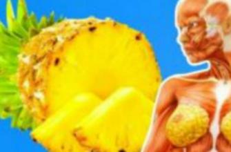 Ешьте два кусочка ананаса каждый день и улучшайте свое здоровье