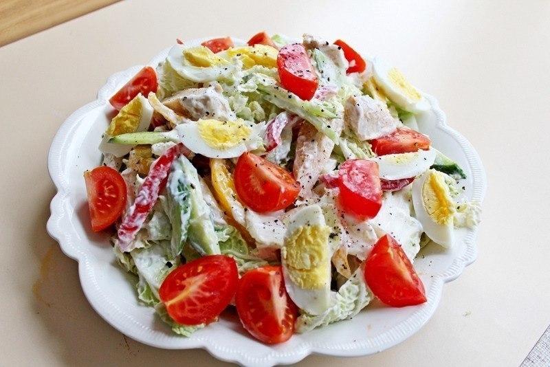 Идеальный ПП-ужин: салат «Свежесть»
