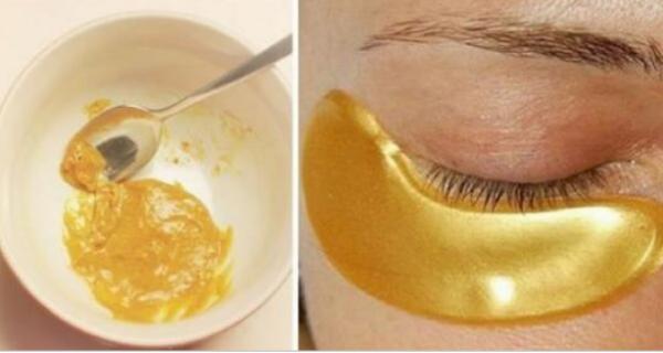 Они называют это золотой маской, потому что она помогает устранить морщины, пятна и прыщи. Вот рецепт.
