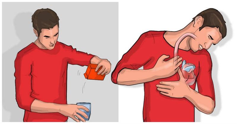 Если спустя 5 минут после того, как выпили соду, у вас появляется отрыжка, вот что это значит!