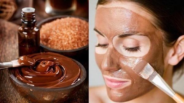 Шоколадная маска против старения