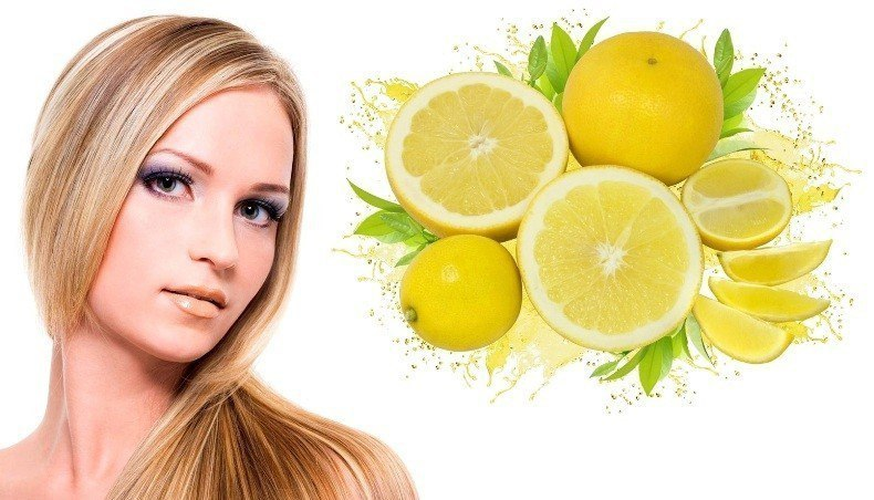 Лимон - лучшее натуральное средство для блеска и красоты волос!