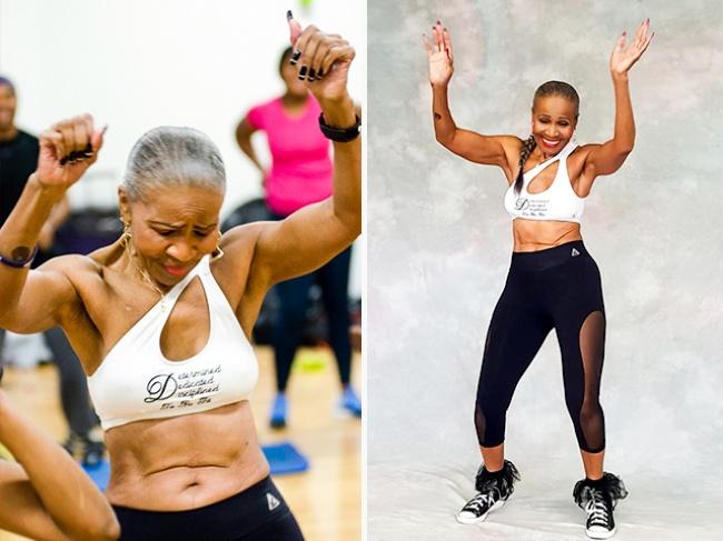 Заниматься она начала в 56, сегодня ей 80. Ее подтянутой фигуре могут позавидовать и 20-летние!