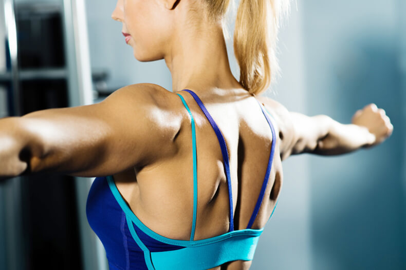 Суперкомплекс упражнений для красивых рук и плечь
