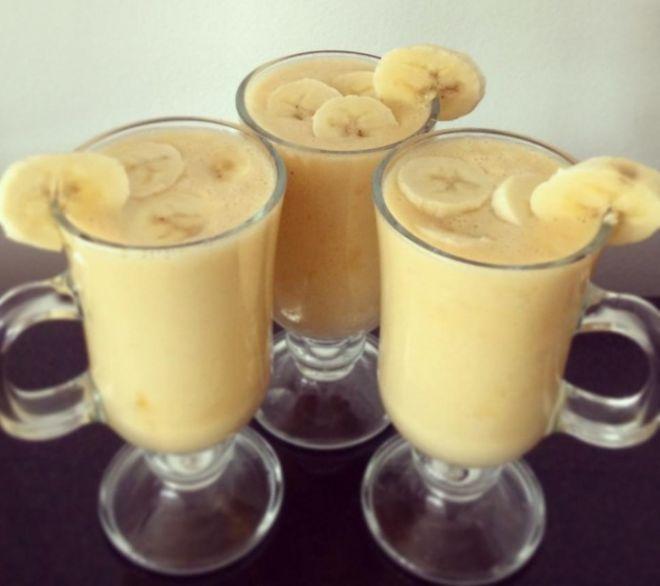 Банановый напиток, который расплавит жир в области талии!