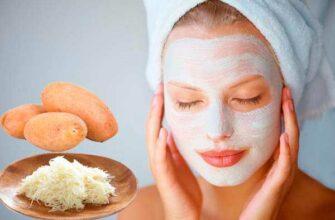 Картофельные маски для нежной и мягкой кожи
